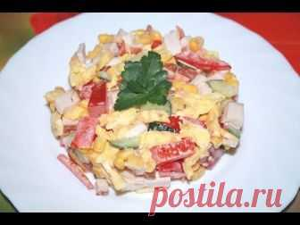 Легкий салат к 8 Марта – кулинарный рецепт