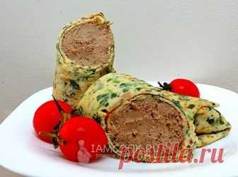 Шпинатные блины с печенью — рецепт с фото пошагово