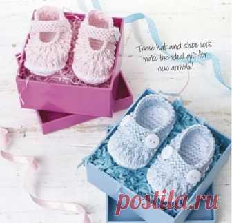 Вяжем для девочек и мальчиков «туфельки» (Вязание спицами) — Журнал Вдохновение Рукодельницы