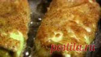 Капустные конвертики с сыром жаренные в сухарях