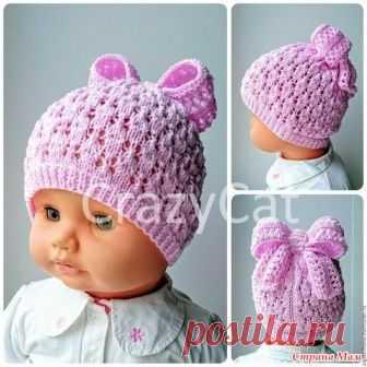 . Помогите связать шапочку Девочки, может, уже кто-нибудь вязал эту шапочку? Поделитесь, пожалуйста, описанием. Она как вяжется, прямоугольником, а потом вверху собирается? Или надо делать как - то убавки в ходе вязания?