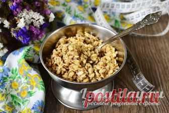 Скраб для кишечника из овсянки для похудения Минус 11 кг | Простые рецепты с фото