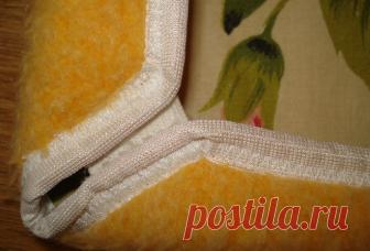 Несколько простых способов как сшить чехлы на табуретку | Рукоделие