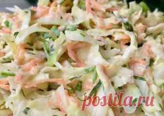 Очень вкусный рецепт салата из свежей капусты Автор рецепта Ликуся - Cookpad
