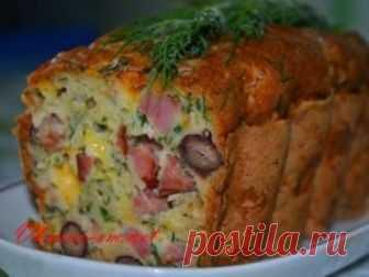 Мясной кекс с фасолью и сыром рецепт в духовке