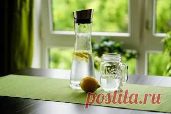 3 напитка от отеков и лишнего веса   Диеты со всего света