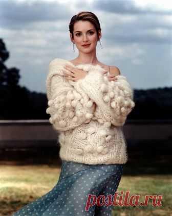 Вайнона Райдер (Winona Ryder) в фотосессии Стивена Майзела (Steven Meisel) для журнала Vogue (1999).