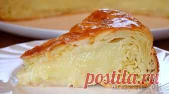 """Египетский пирог """"Фытыр"""" с заварным кремом"""