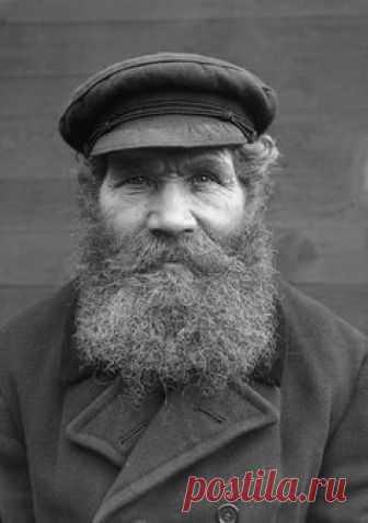G. V. Gustafsson, Margretelund, Uppland, Sweden    The crofter G. V. Gustafsson in Margretelund. Born in 1872.