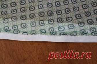 Швейная хитрость — как можно обрабатывать край тонких тканей (Шитье и крой) — Журнал Вдохновение Рукодельницы