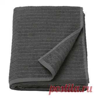 ВОГШЁН | Простыня банная |  Доставка товаров из IKEA | VAMDODOMA Мягкое махровое полотенце прекрасно впитывает влагу (плотность 390 г/м²).Длинные волокна чесаного хлопка придают полотенцу прочность и мягкость.