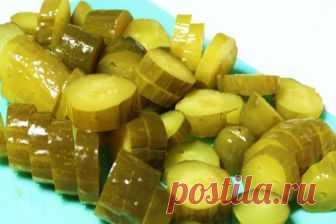 Рецепт соленых огурцов холодным способом