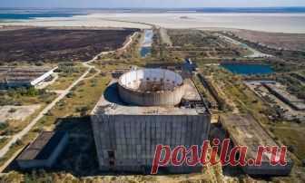 Атомная станция в Крыму. Все разграбили и растащили | БЛОГ НЕ БЛОГЕРА | Яндекс Дзен