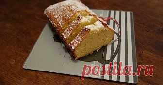 Quatre quarts : четыре четвертинки сладкий пирог