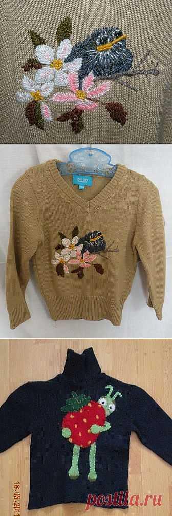 Звероконкурс: декор детской одежды / Для детей / Модный сайт о стильной переделке одежды и интерьера
