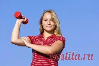 О полезных свойствах упражнений с гантелями   Всегда в форме!