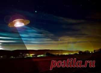 Жители Пакистана зафиксировали на камеру летающую тарелку  инопланетян