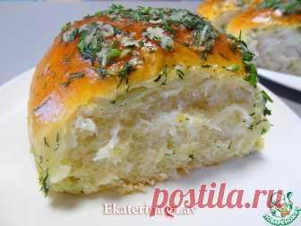 Пампушки с чесноком на кефире Кулинарный рецепт