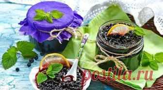 Варенье из черники - 10 рецептов на зиму
