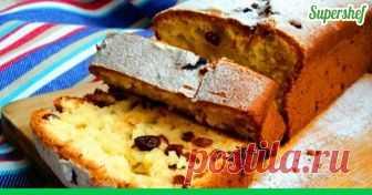 Творожный кекс с курагой и изюмом. Вкусно, просто – понравится всем вашим гостям! ....