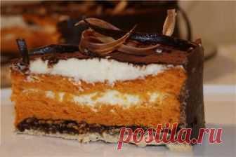 Торт «Шифон в шоколаде»
