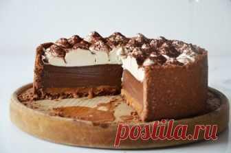 """Шоколадный пирог с карамелью """"Принцесса"""""""