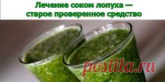 Лечение соком лопуха — старое проверенное средство | Полезные советы