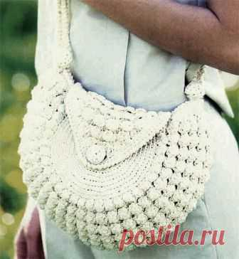 1585f3211931 Вязание крючком. Маленькая сумочка, связанная крючком. | Вязаные сумки