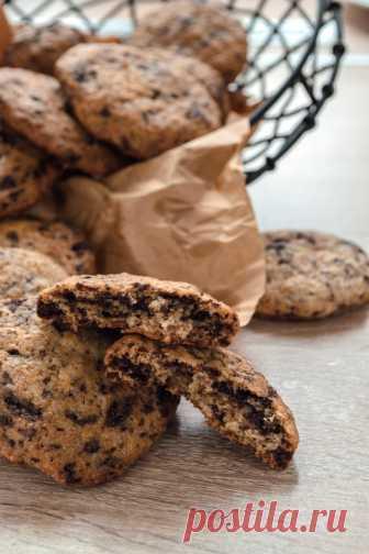 Орехово-шоколадное печенье - Pan Fairy