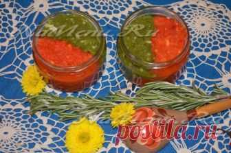 Hot sauce from paprika for the winter