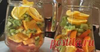 Тропический лимонад - пошаговый рецепт с фото.