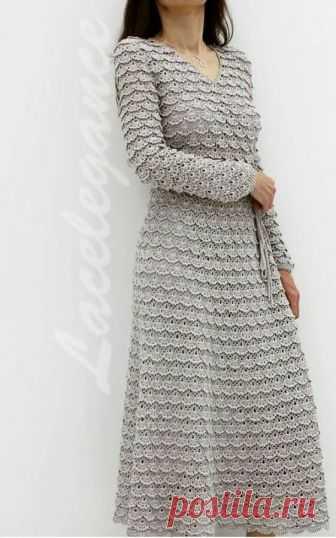 Платье из ленточного кружева Размещаю просто как идею. Мне очень понравилось. Кружево можно связать, можно использовать готовое, фасон тоже на свое усмотрение.  Платье вижу зацепило многих, я не исключение, поэтому развиваю тему…