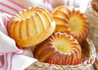 Аппетиные творожные кексы Эти вкуснейшие творожные кексы украсят любое чаепитие.