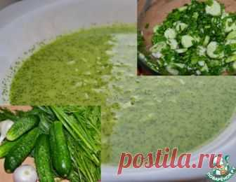 Холодный огуречный суп – кулинарный рецепт