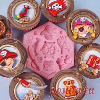 Navigation, Pirates, Animal, Silicone mold, Resin mold, Mould, Fondant mold, Soap mold, Chocolate mold, Candy mold, Jewelry mold, Molds Navigation, Pirates, Animal, Silicone mold, Resin mold, Mould, Fondant mold, Soap mold, Chocolate mold, Candy mold, Jewelry mold, Molds  ►More molds: https://www.etsy.com/shop/OscolShop?ref=l2-shopheader-name§ion_id=24157932  Material: Silicone Working Temperature: -60 to +240° C Package