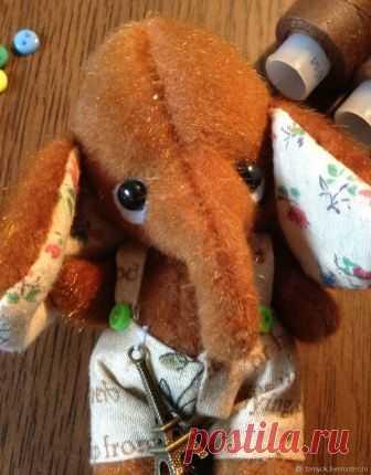 Рыжий слоник тедди – купить в интернет-магазине на Ярмарке Мастеров с доставкой Рыжий слоник тедди - купить или заказать в интернет-магазине на Ярмарке Мастеров | Этот маленький милый слоник Тедди, ростом 9 см,…