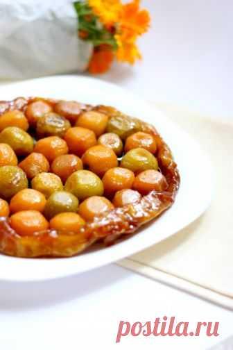 Любимый рецепт французского пирога из груши