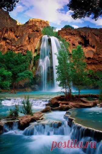 riccardo • Havasu Falls, Havasupi,