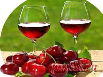 Домашнее вино из вишни