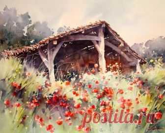 Солнечная акварель Кристиана Гранью Кристиан Гранью родился в 1946 году в департаменте Лот и Гарон (Франция). Название округу дали две реки, протекающие по его территории – Ло и Гаронна. Здесь очень красивые места с милыми провинциально...