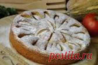 El pastel de calabazas con las manzanas - poshagovyy la receta de la foto en Повар.ру