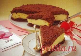 Торт «Творожок под одеялом» – рецепт с фото.