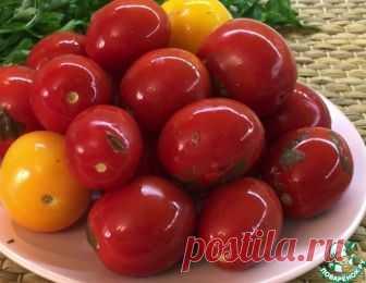 Солёные помидоры в кастрюле без хлопот – кулинарный рецепт