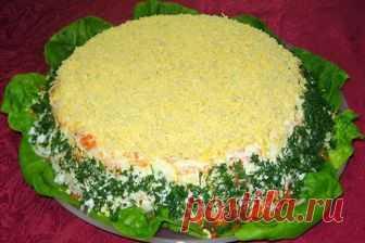 Рецепт: Картофельный салат с семгой