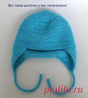 Как вязать шапку от макушки(спицы)