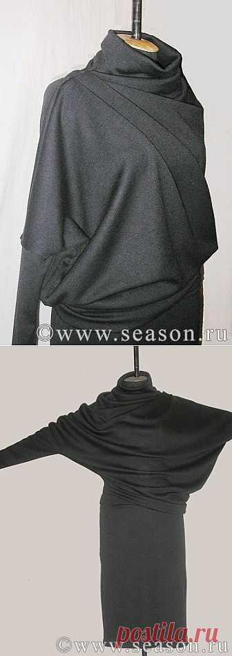 Перекошенный крой от Natamoda (DIY) / Платья Diy / Модный сайт о стильной переделке одежды и интерьера