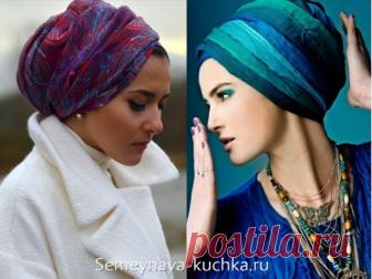 платок на голову, как красиво завязать.... Поиск на постиле