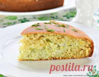 Быстрый пирог с молодой капустой - рецепт-находка!