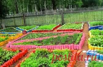 Поделки для дачи и сада своими руками: из дерева, пластиковых бутылок, покрышек и шин