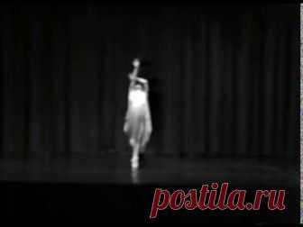 Читает Сергей Есенин - Я покинул родимый дом - Танцует Айсидора
